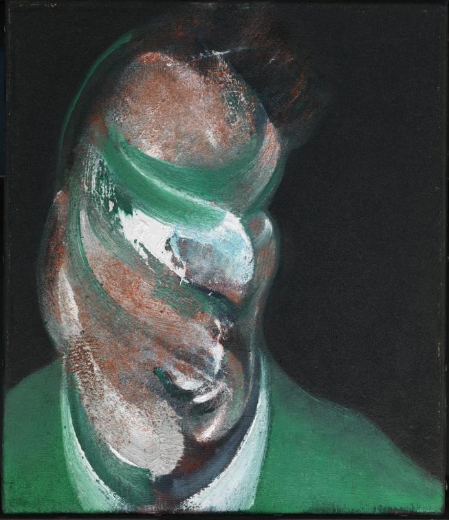 Study for Head of Lucian Freud 1967 by Francis Bacon 1909-1992